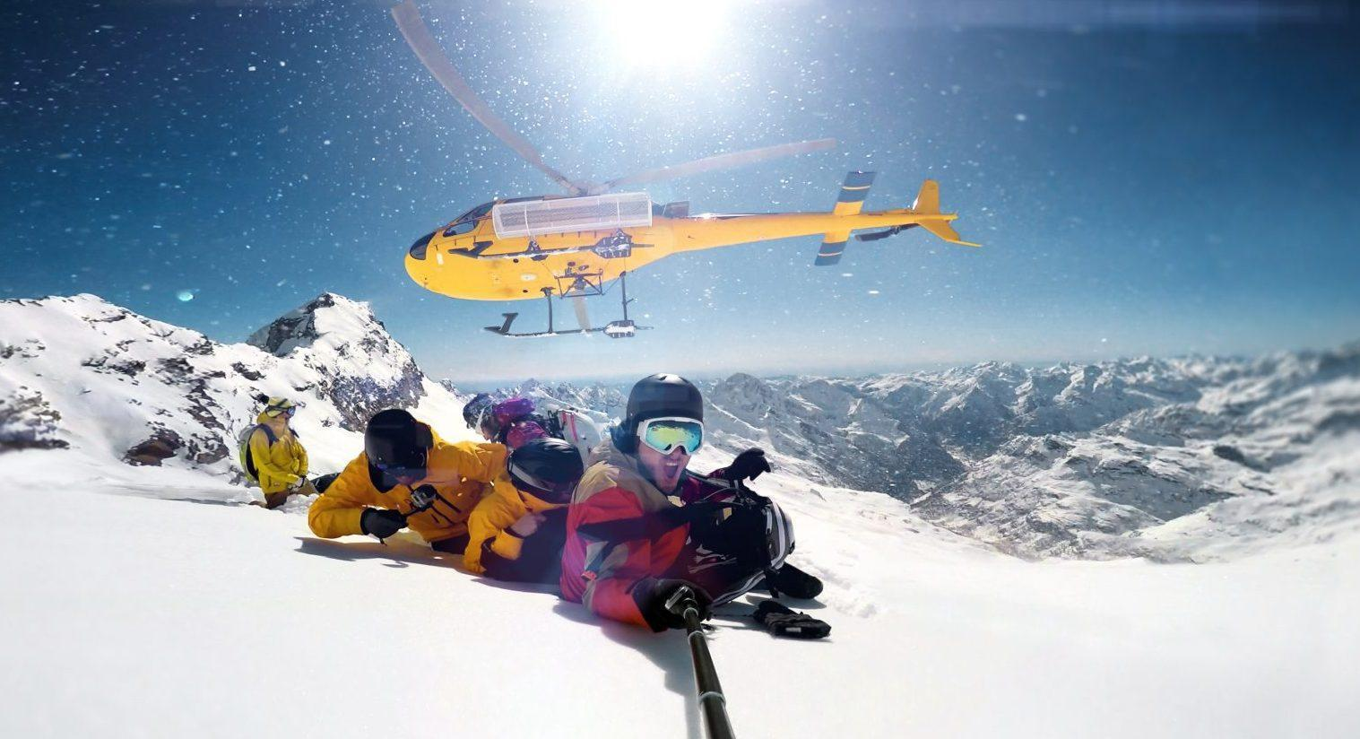 Heli-Skiing in North America