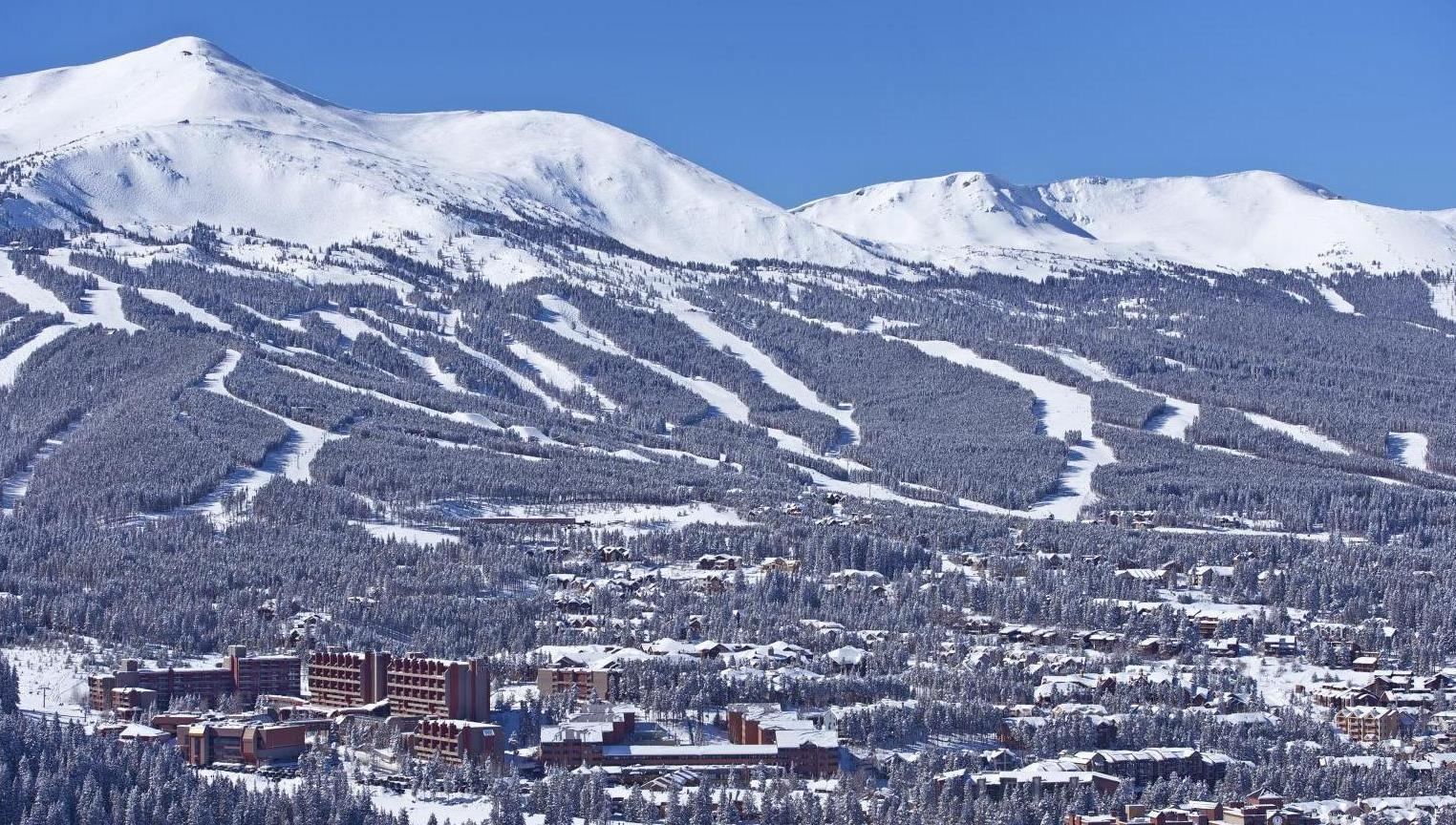 Breckenridge Winter Panorama