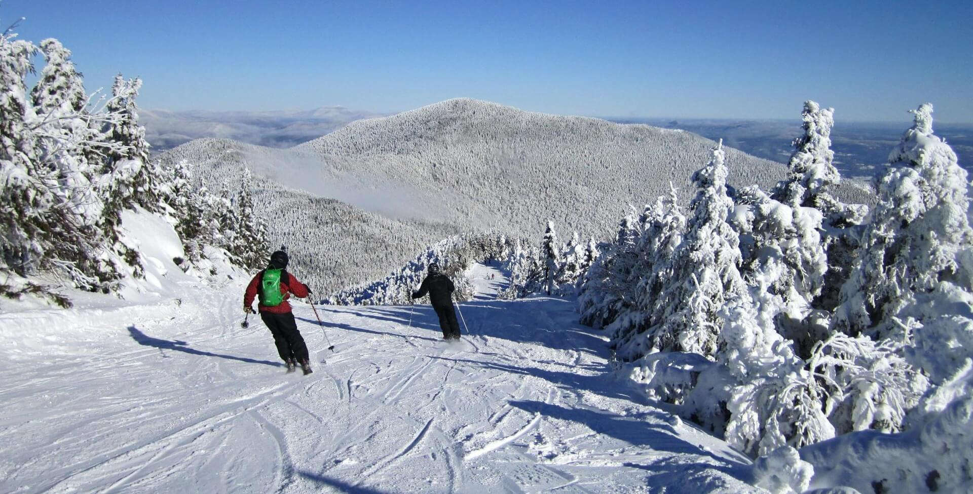 Top 5 Skiing Resorts in Vermont