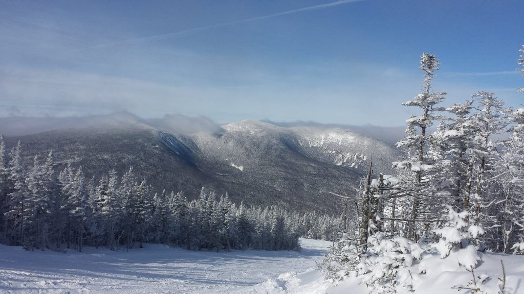Winter Wonderland Taken from the top of Sugarloaf Mountain in the Carrabasset Valley of Maine after a blizzard